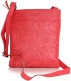 La Roma Women Pink Genuine Leather Sling...