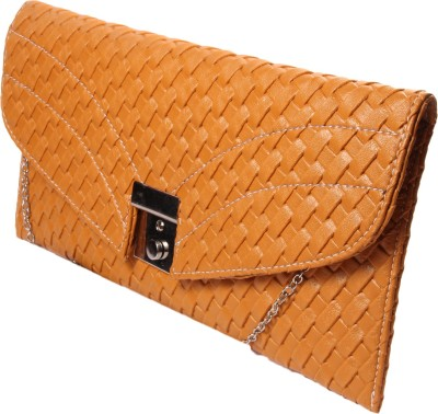 ARMADIO Girls Tan Leatherette Sling Bag