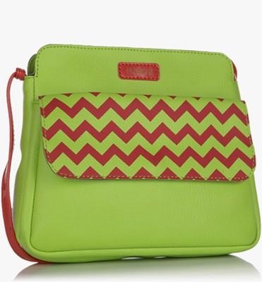Peperone Girls, Women Green PU Sling Bag