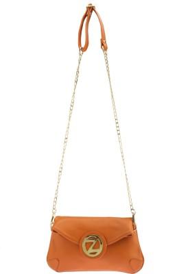 Osaiz Girls Orange PU Sling Bag