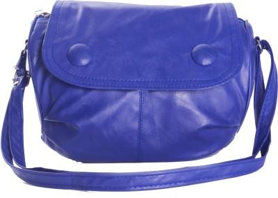 Felicita Girls Casual, Evening/Party Blue PU Sling Bag