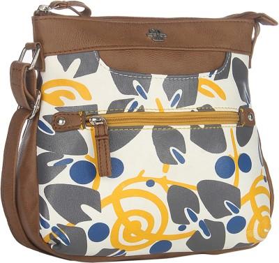 Peperone Girls, Women White PU Sling Bag