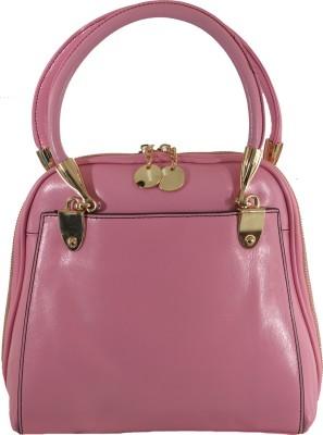 The Backbencher Women Pink Leatherette Sling Bag