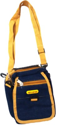 Navigator Girls, Boys Blue Polyester Messenger Bag
