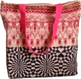 Fly Angels Women Multicolor Canvas Tote