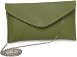Louise & Harris Women Green PU Sling Bag