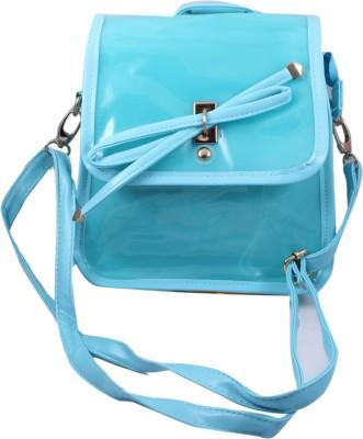 ARMADIO Girls Blue Polyester Sling Bag