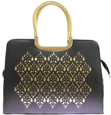 Velina Women Black PU Hand-held Bag