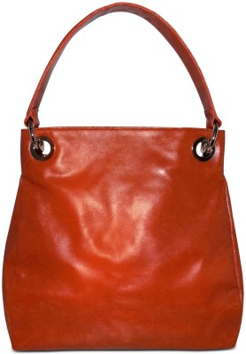 Cascara Women Tan Rexine Hobo