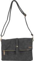 Merci Women Black Leatherette Sling Bag