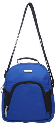 Harissons Men, Women Casual Blue Nylon Sling Bag