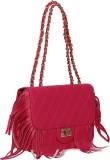 Bagkok Women Pink PU Sling Bag