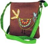 Indha Craft Women Green Polyester Sling ...