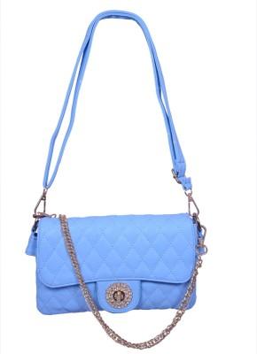 Ruff Women, Girls Blue PU Sling Bag