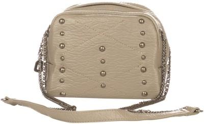 Vero Couture Women Grey PU Sling Bag