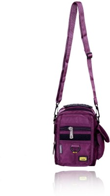 Yark Girls Casual Purple Polyester Sling Bag