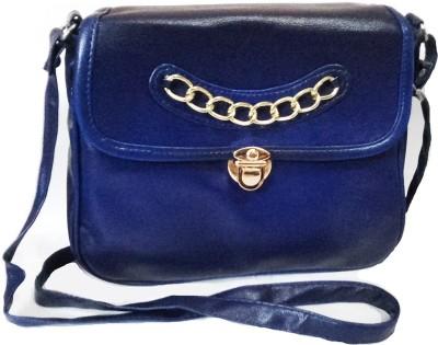 Chalissa Girls, Women Blue PU Sling Bag
