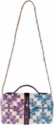 Natural Furnish Women Casual Multicolor PU Sling Bag