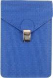 Dooda Women Blue Leatherette Sling Bag
