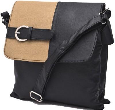 Igypsy Girls, Women, Men Black Leatherette Sling Bag