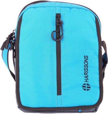 Harissons Men, Women Blue Polyester Sling Bag