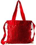 Little India Women Casual Red Cotton Sli...