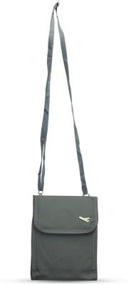 Fab Fashion Women, Girls Grey Canvas Sling Bag