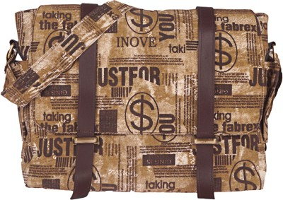 BagsRus Men, Women Casual Brown Canvas Sling Bag