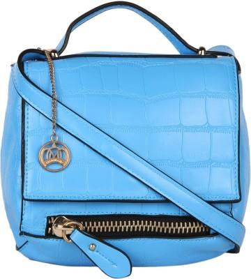 Moedbuille Women Blue PU Sling Bag