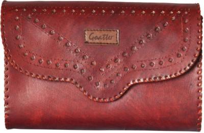 Goatter Girls, Women Red Genuine Leather Sling Bag