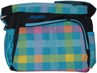 Navigator Women Blue Polyester Sling Bag