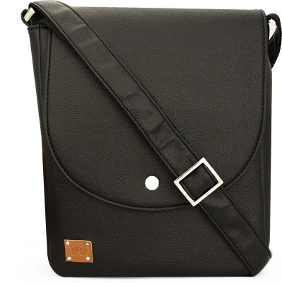 toog Girls, Women Black Leatherette Sling Bag