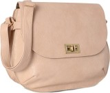 Baggit Women White Rexine Sling Bag