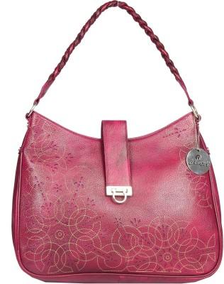 Chanter Women Purple Genuine Leather Sling Bag