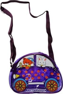 Klassik Boys, Girls Purple Acrylic Sling Bag