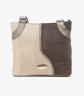 DHC Women Casual Brown PU Sling Bag