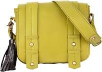Risa Women Yellow Genuine Leather Sling Bag