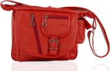 Igypsy Women Red Leatherette Sling Bag