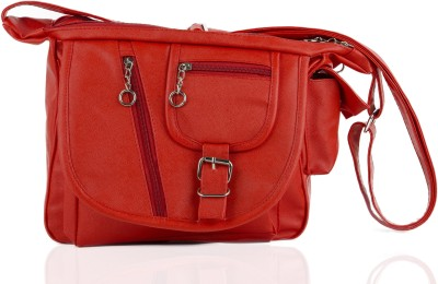 Igypsy Girls, Women Red Leatherette Sling Bag