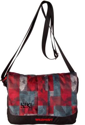 Wildcraft Women Red Polyester Sling Bag