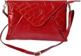 Rivory Bros Women Red Genuine Leather Sl...