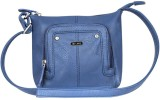 Lavie Women Blue PU Sling Bag