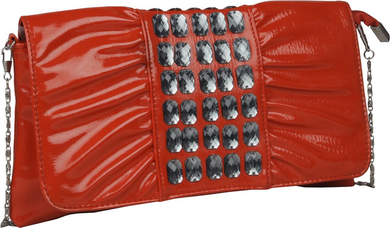 Sling bag below 500 - Senora Women Red Pu Sling Bag