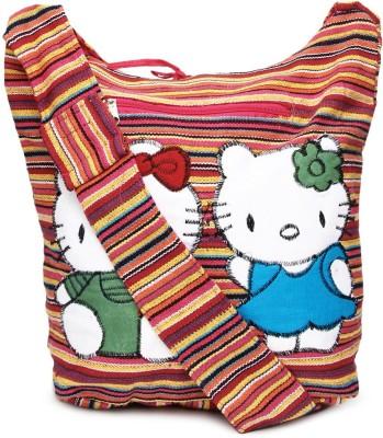 Coash Girls Casual Multicolor Cotton Sling Bag