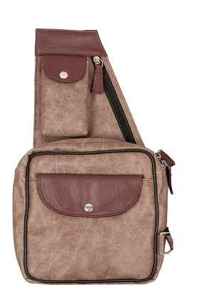 toog Women, Girls Maroon Leatherette Sling Bag