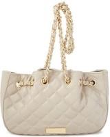 Bebe Women Grey Genuine Leather Sling Bag
