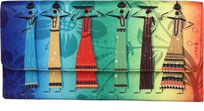 Zoe Makhoa Girls, Women Multicolor Silk Sling Bag