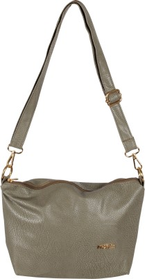 Merci Women Grey PU Sling Bag
