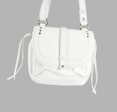 Dooda Casual White  Clutch