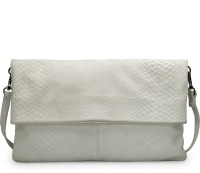 Phive Rivers Women White Genuine Leather Sling Bag